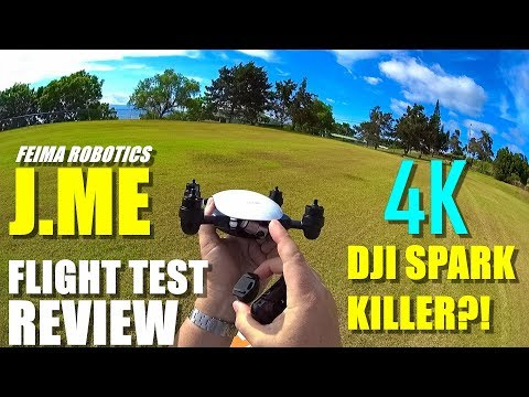 DJI SPARK KILLER?! – 4K Feima Robotics J.ME Drone Review – Part 2 – Flight Test / Pros & Cons