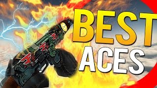 CS:GO - BEST ACES IN PRO MATCHES 2016 EDITION!