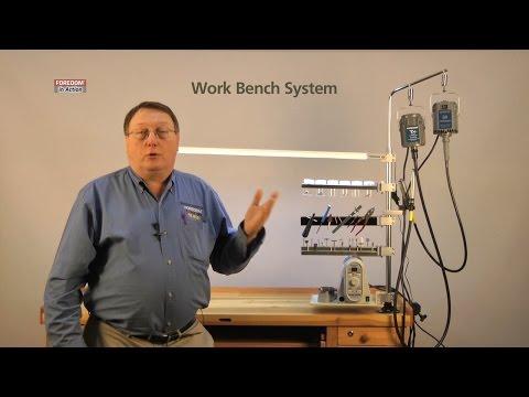 Pendant Motor Hanger Work Bench System, Foredom
