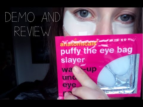 ANATOMICALS UNDER EYE PATCHES | Review And Demonstration | No Makeup!