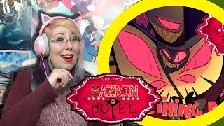 """SOMETHING ROTTEN"" Reaction - Hazbin Hotel - Zamber Reacts"