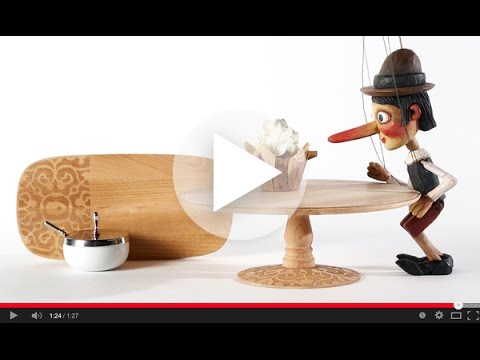 "Video of the ""Dressed"" in Wood -Collection"