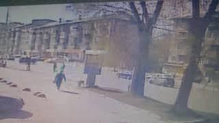 Смертельное столкновение мотоциклиста и автомобиля на Щорса попало на видео