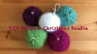 Christmas Bauble - DIY for beginners