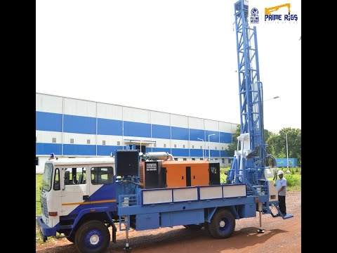 DTH 150 Fully Hydraulic Water Well Drilling Rig