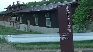 mikayama宮城県泉ヶ岳登山口市民キャンプ場の様子