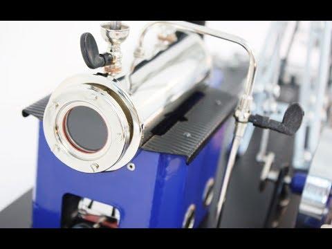 Review und Aufbau der Wilesco Dampfmaschine D11 inkl. Tronico Metallbausatz Teil 1