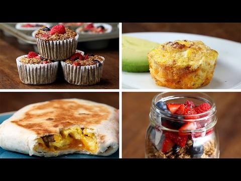 Video Make-Ahead Breakfast Ideas For The Week