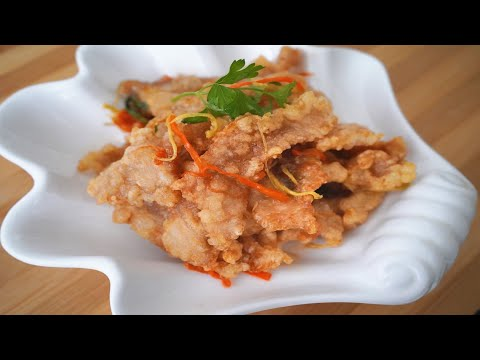 Cerdo agridulce y crujiente /Guo bao rou Dongbei/ Receta china noreste auténtica