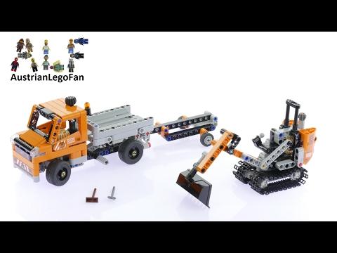 Vidéo LEGO Technic 42060 : L'équipe de réparation routière