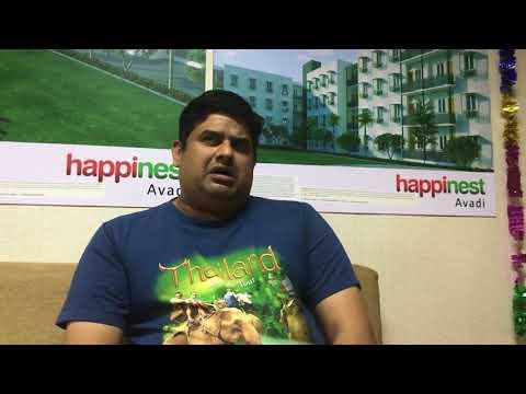 Mahindra Happinest Avadi - Mr. Krishna's Testimony