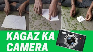 DIY Make a camera | Paper folding tricks | Origami 2019