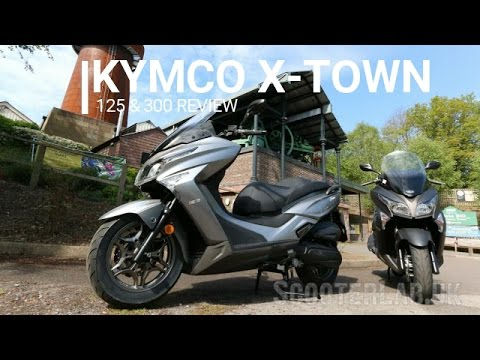 SLUK | KYMCO X-TOWN 125 & 300 first ride review