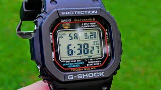 Casio G-shock GW-M5610 The ULTIMATE Watch Review!!