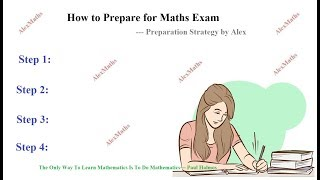 How to Prepare for Maths  Exam to score High Marks