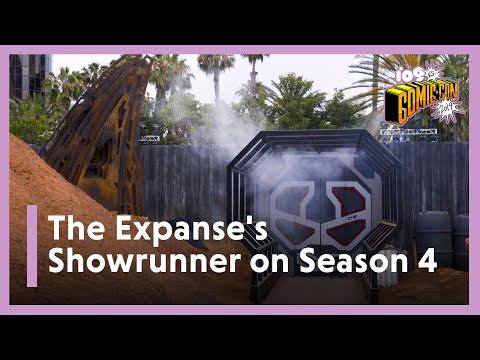 SDCC 2019   The Expanse Season 4 Showrunner Talks Ilus, Miller & Move to Amazon