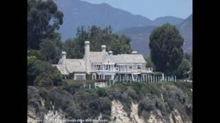Barbara Streisand House Layout Great ideas