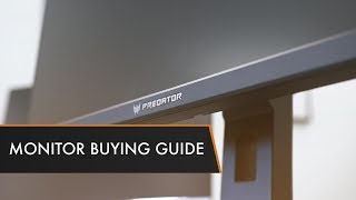 Monitor Buying Guide 2017 | Everything You Need to Know!