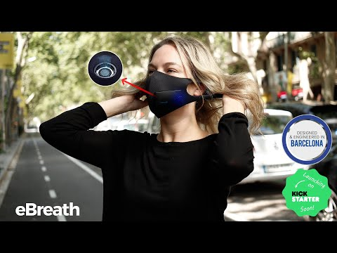 eBreath – Forget you're wearing a mask!-GadgetAny