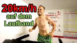 1000m in 3:00min auf dem Laufband - Selbstkritik