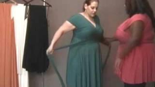 Monif C. Plus Sizes Marilyn Convertible Dress Video #2