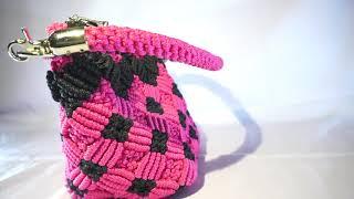 Handbag Talikur Warna Pink-Hitam nan Menggoda