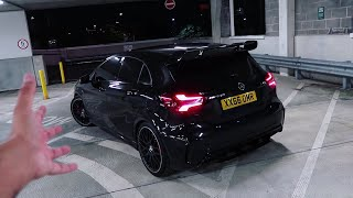 This Mercedes A45 AMG is the CRAZIEST Hot Hatch I've EVER Driven!
