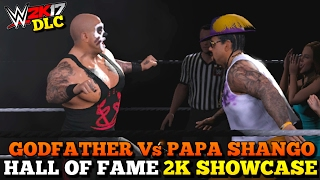 wwe-2k17-hall-of-fame-dlc-godfather-vs-papa-shango-full-showcase-all-objectives-completed