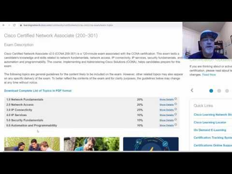 What's in the new CCNA 200-301 certification exam? - YouTube