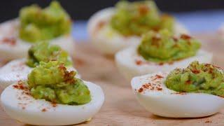 Avacado Party Eggs