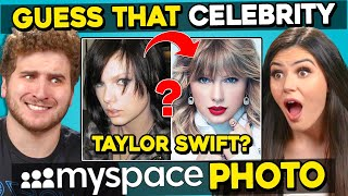 Guess That Celebrity From Their Old MySpace Photos