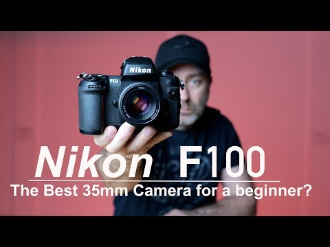 Nikon F100 | The Best 35mm film Camera for beginners | 4K