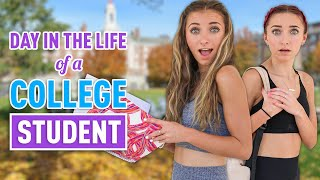 Day In The Life Of a COLLEGE STUDENT | Brooklyn & Bailey by Brooklyn and Bailey