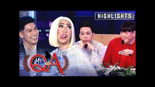 Vice brags his lovelife to MC and Lassy | It's Showtime Mr. Q and A