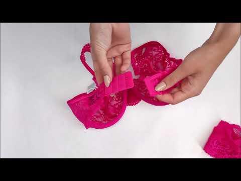 Zářivý set Luvae set pink - Obsessive
