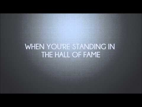 The Script Ft. Will.I.Am - Hall Of Fame (HD Lyrics) Mp3