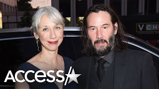 Keanu Reeves Girlfriend Alexandra Grant Reacts To Frenzy Over Their Romance