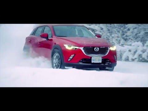 Mazda  Cx3 Паркетник класса J - рекламное видео 1