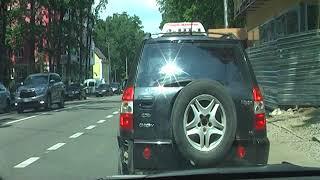 Слепая зона за рулем автомобиля