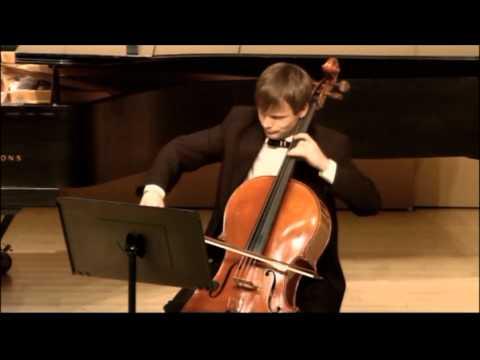 Attila Szasz performing at graduate recital, 2012