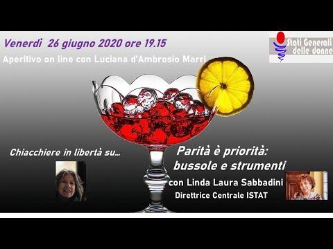 26/06/2020 Aperitivo con... Linda Sabbadini - #StatiGeneraliDelleDonne