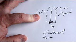 Port vs. Starboard - EASY to Remember Trick