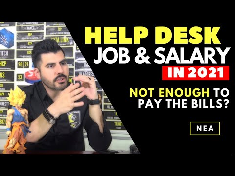 Help Desk job and salary in 2020   NOT ENOUGH to pay the bills ☹️☹️ Here is my story...