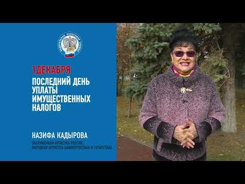 Кадырова о необходимости уплаты имущественных налогов