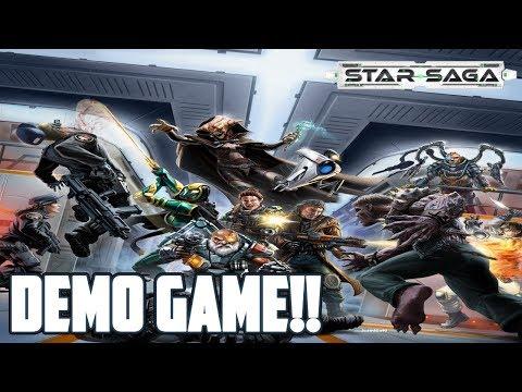 Star Saga Demo Game