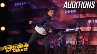 Funny Magician That Blows the Judges Minds | Auditions | Australia's Got Talent