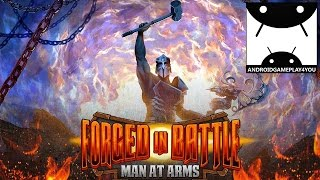 Forged in Battle: Man at Arms Android GamePlay Trailer (By Defy Media) [Game For Kids]