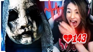 WARNING: SCARIEST GAME EVER MADE! (FREAKOUT) + Heart Rate Monitor!