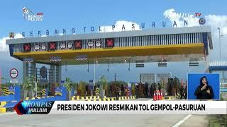 Presiden Jokowi Resmikan Tol Rembang-Pasuruan