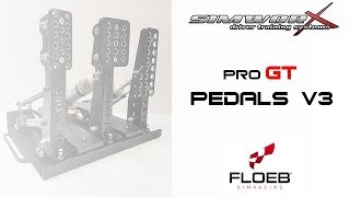 PRO SERIES PEDALS V3 -   SIMWORX -  Review [SUB Eng-Fra]
